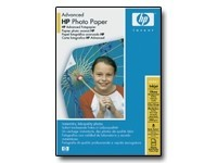 HP Advanced Glossy Photo Paper - papier photo - 25 feuille(s)
