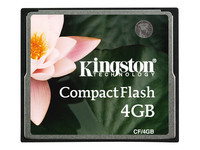 Kingston - carte mémoire flash - 4 Go - CompactFlash