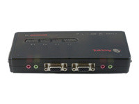 Avocent Switchview SV120 - commutateur écran-clavier-souris/audio - 4 ports