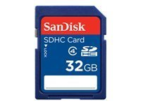 SanDisk Standard - carte mémoire flash - 32 Go - SDHC