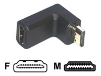 MCL Samar CG-283 - HDMI right angle adapter