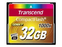 Transcend Ultimate - carte mémoire flash - 32 Go - CompactFlash