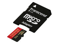 Transcend Ultimate series TS32GUSDHC10U1 - carte mémoire flash - 32 Go - SDHC UHS-I