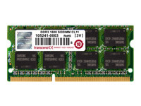 Transcend - DDR3 - 8 Go - SO DIMM 204 broches