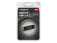 Integral Secure 360 - clé USB - 64 Go