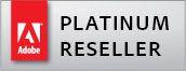 Certified resseler Adobe Platinum