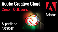 Creez et collaborez avec Adobe Creative Cloud